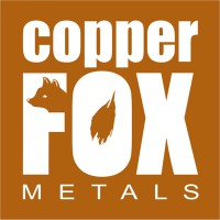 Logo for Copper Fox Metals Inc.