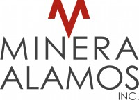 Logo for Minera Alamos Inc.