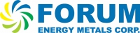Forum Energy Metals Corp.