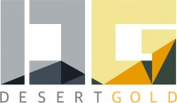 Logo for Desert Gold Ventures Inc.