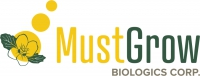 Logo for MustGrow Biologics Corp.