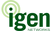 Logo for IGEN Networks Corporation