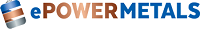 Logo for ePower Metals Inc.